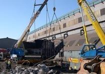 Демонтаж конструкций из металла в Аксае