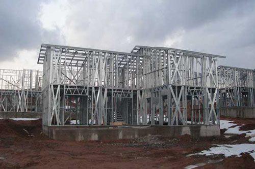 Здания на основе облегчённого металлического каркаса в Аксае